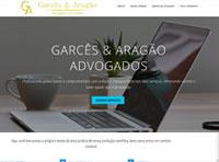 site do escritório de advocacia garcês e aragão