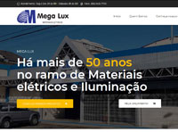 site da megalux materiais elétricos